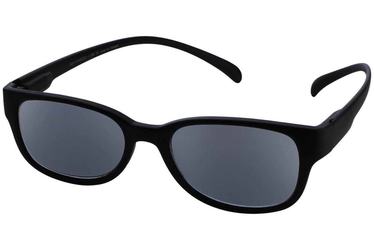Alternate Image 1 - I Heart Eyewear Neck Hanging Reading Sunglasses  - Black