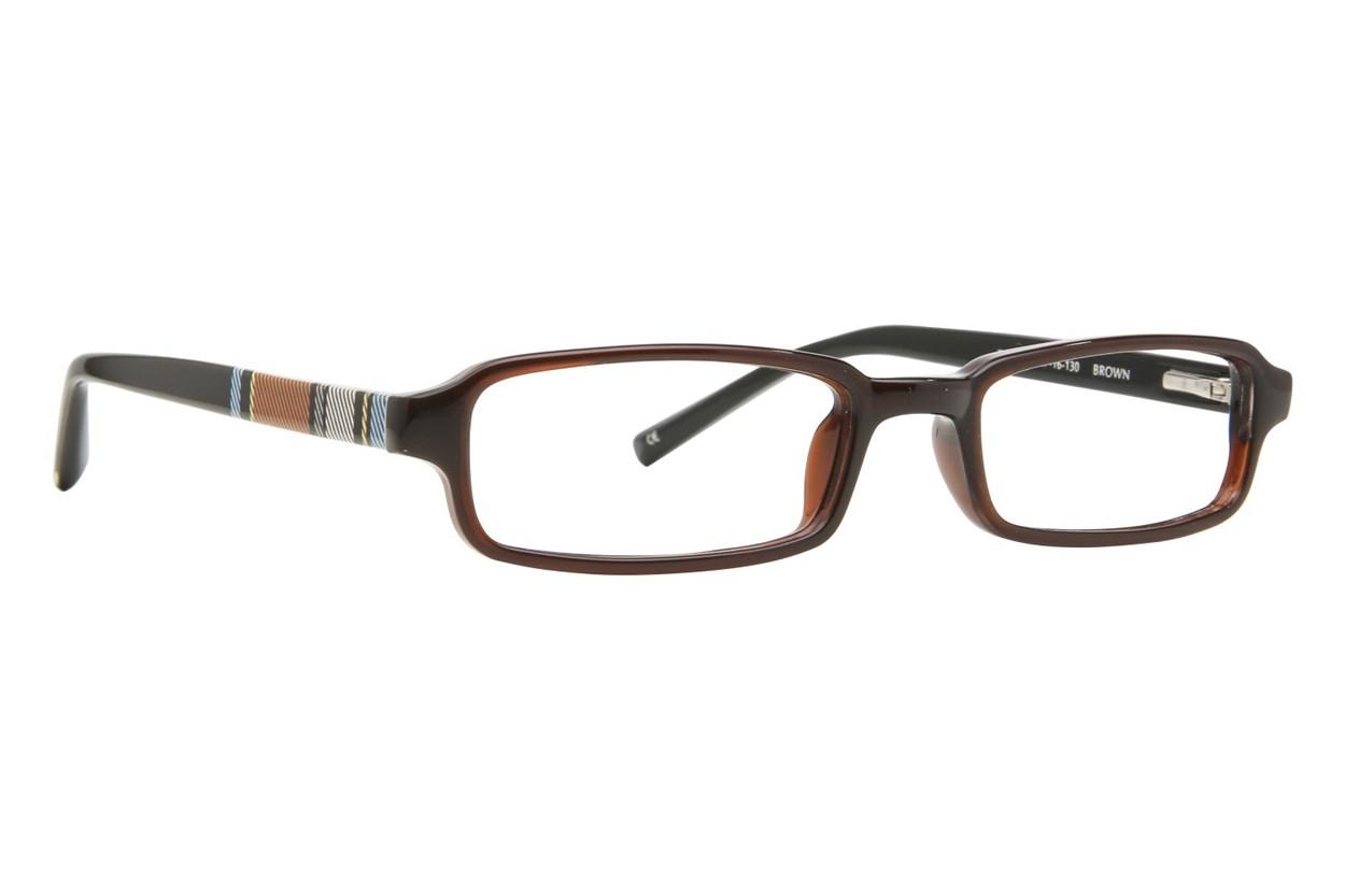 Converse Zoom Eyeglasses - Brown