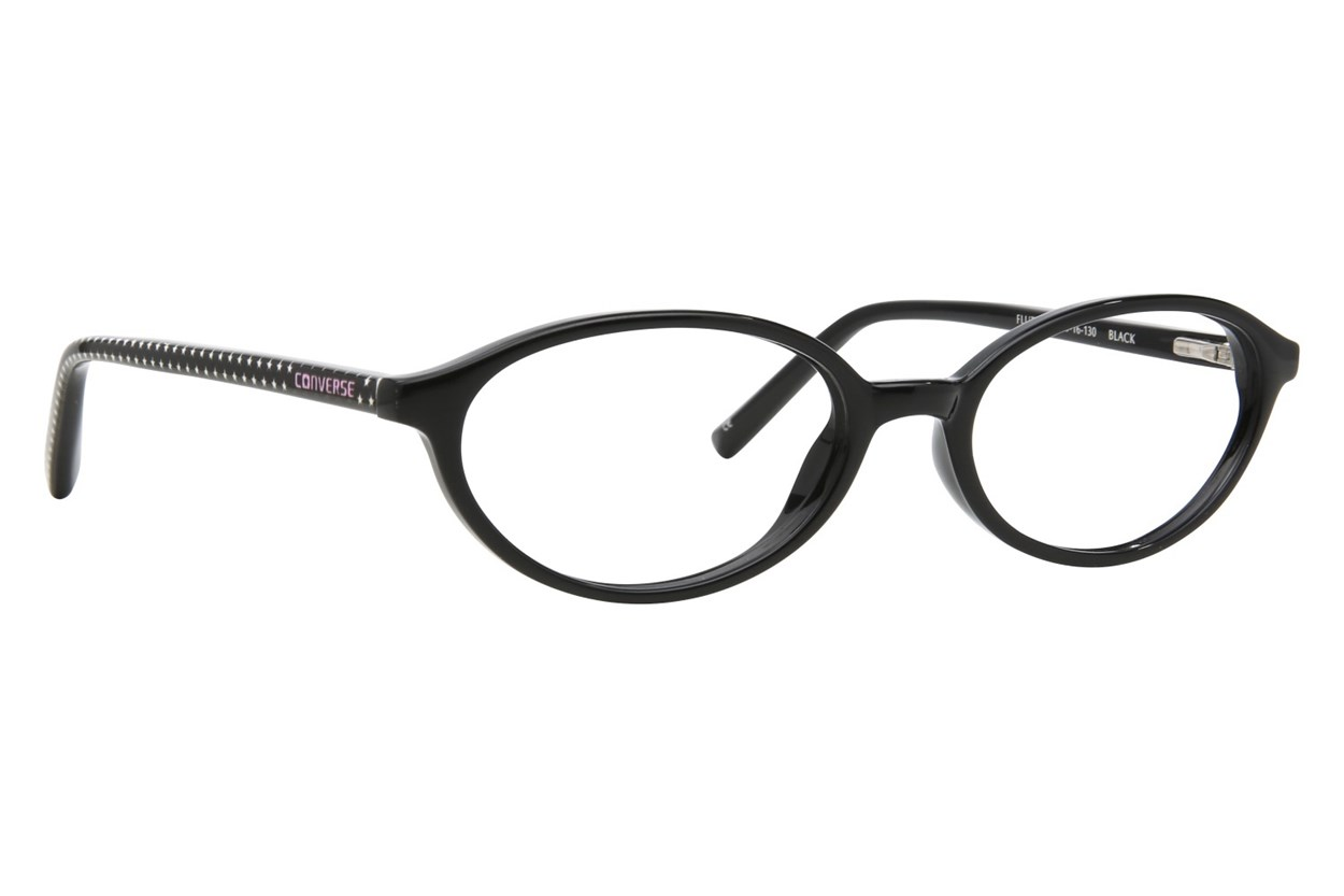 Converse Flutter Eyeglasses - Black