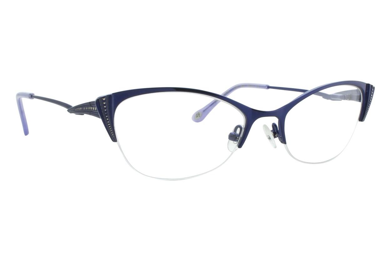 Lulu Guinness L764 Eyeglasses - Blue