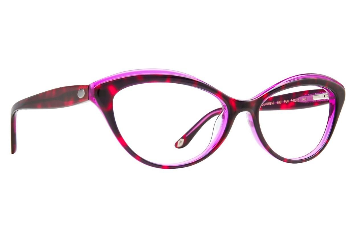 Lulu Guinness L881 Eyeglasses - Purple