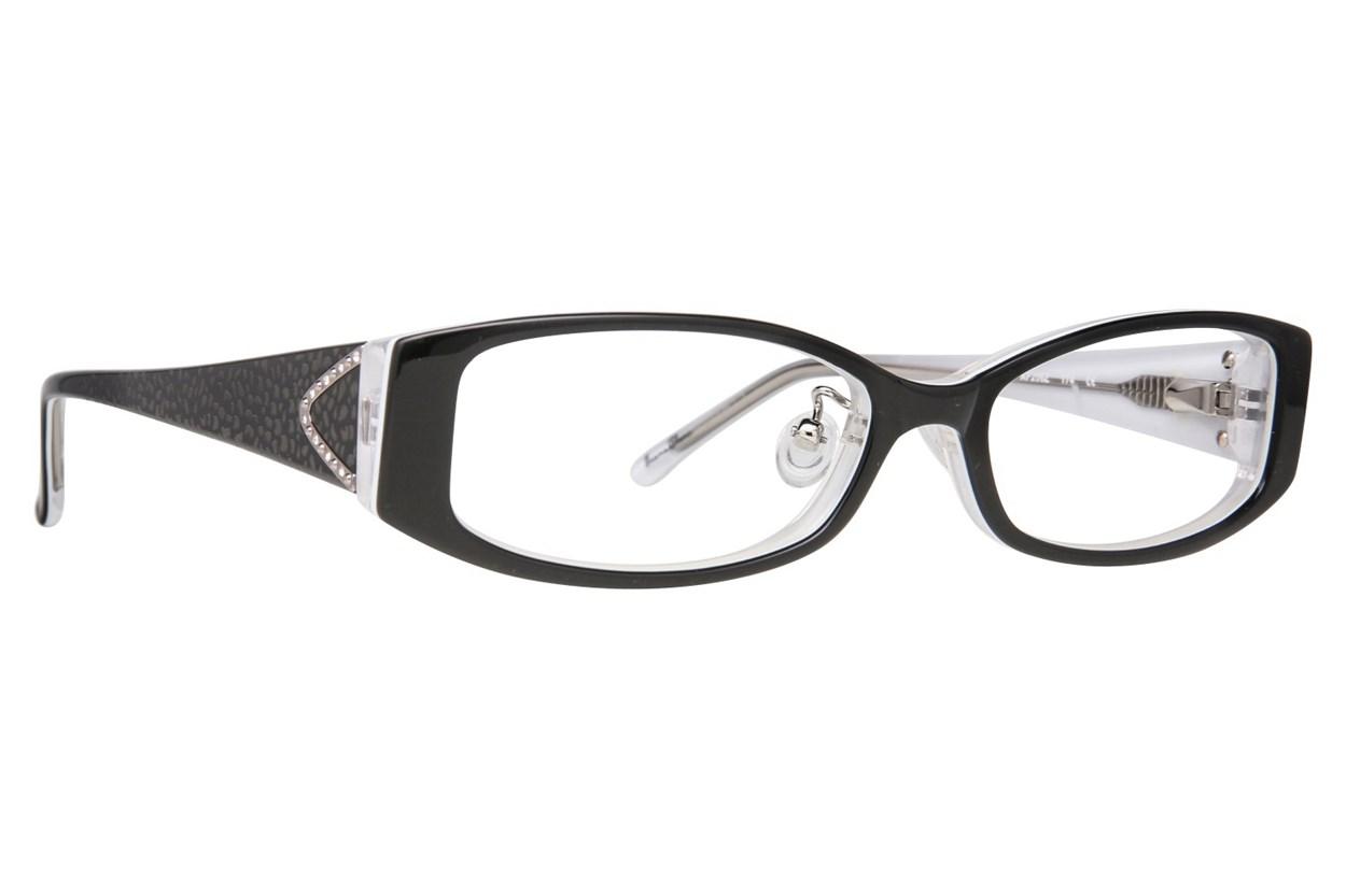 Red Lotus AF 206Z Eyeglasses - Black