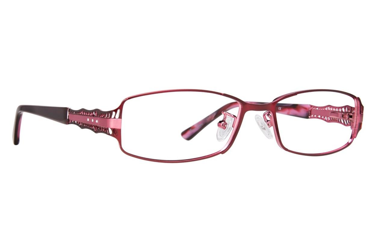 Red Lotus AF 210M Eyeglasses - Red