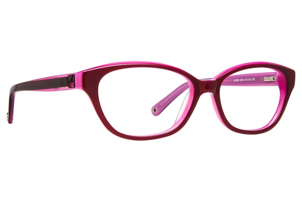 Sperry Top-Sider Avon Eyeglasses - Purple