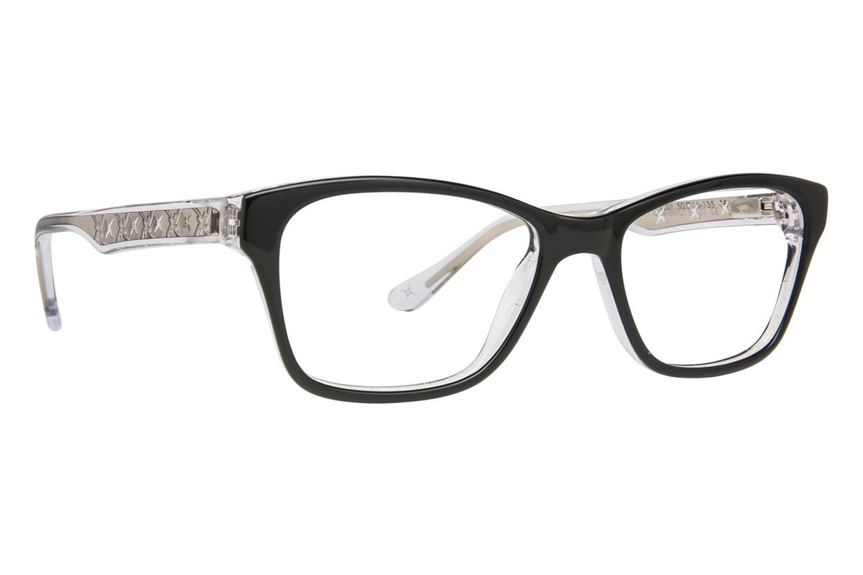 Nicole Miller Broadway Eyeglasses - Black