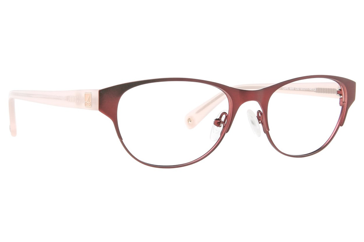 Sperry Top-Sider Cape May Eyeglasses - Red