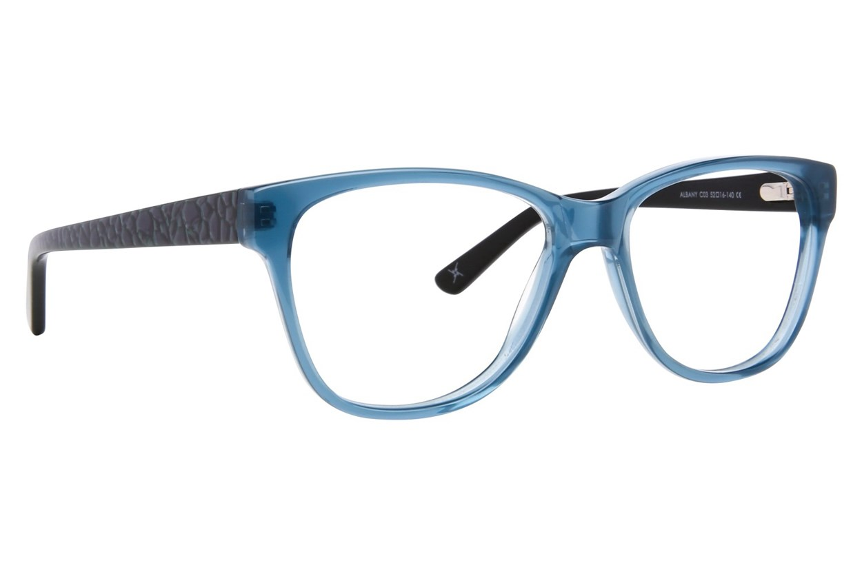 Nicole Miller Albany Eyeglasses - Blue