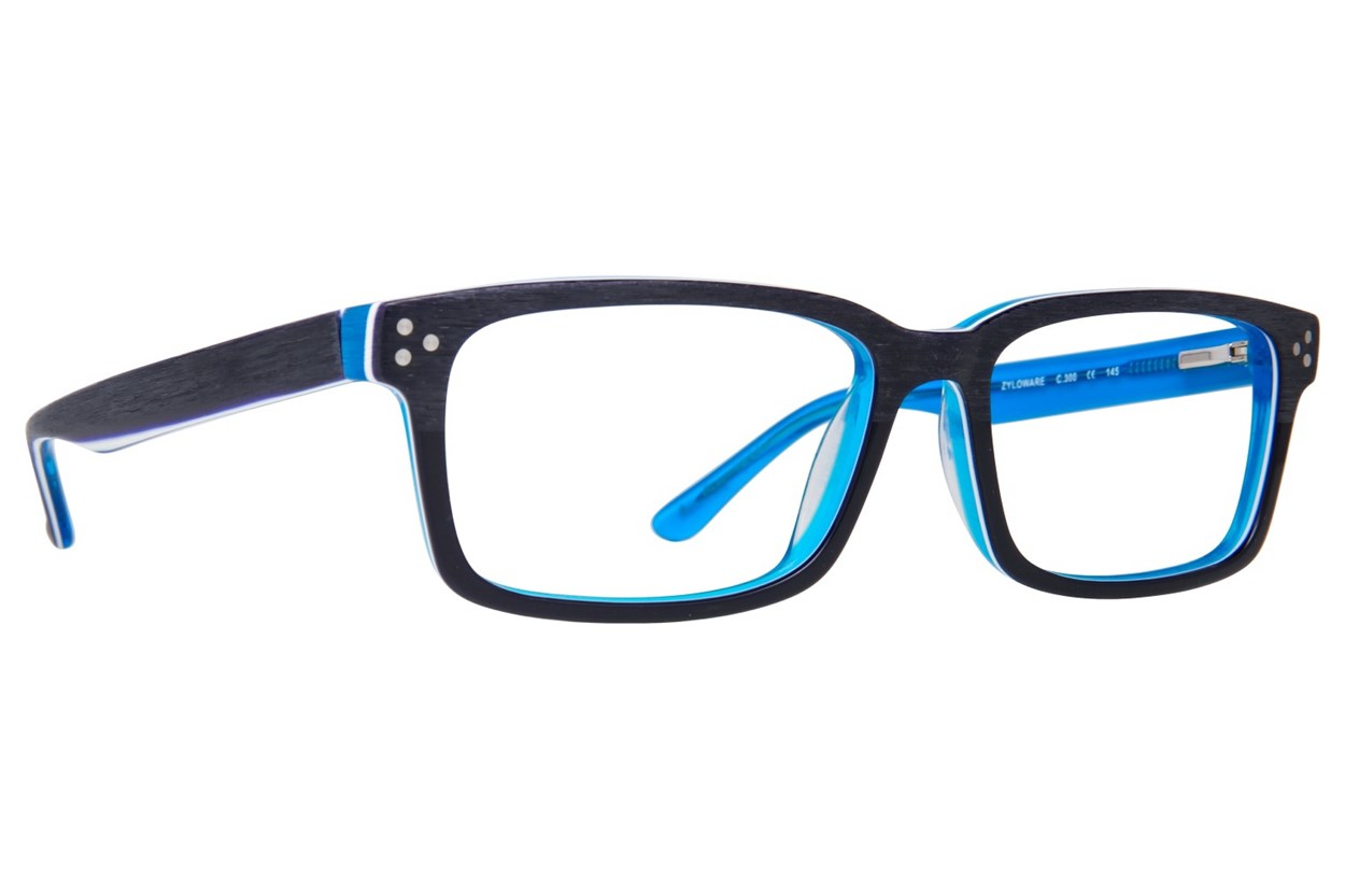 Randy Jackson RJ 3028 Eyeglasses - Blue