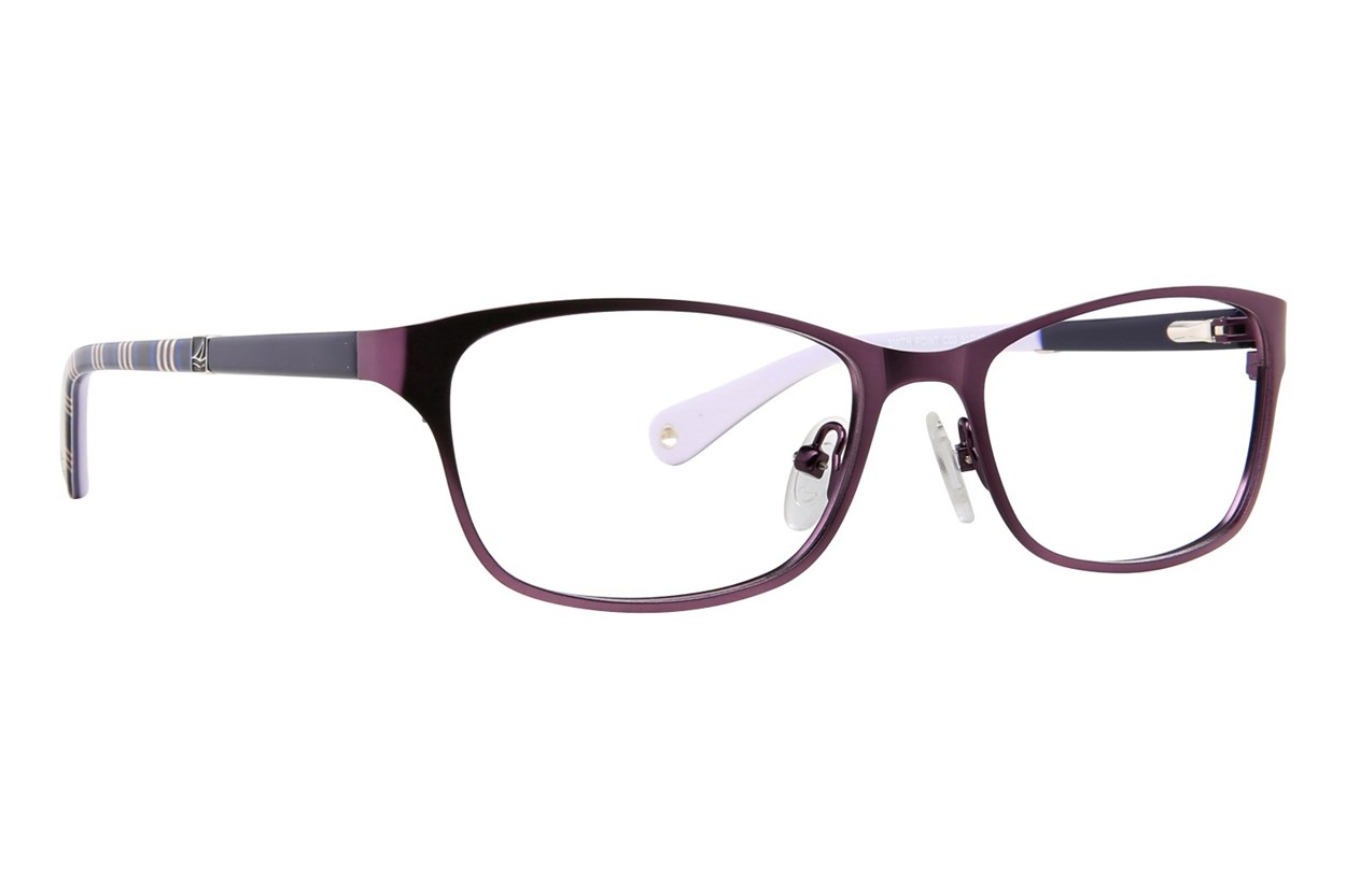 Sperry Top-Sider Smith Point Eyeglasses - Purple