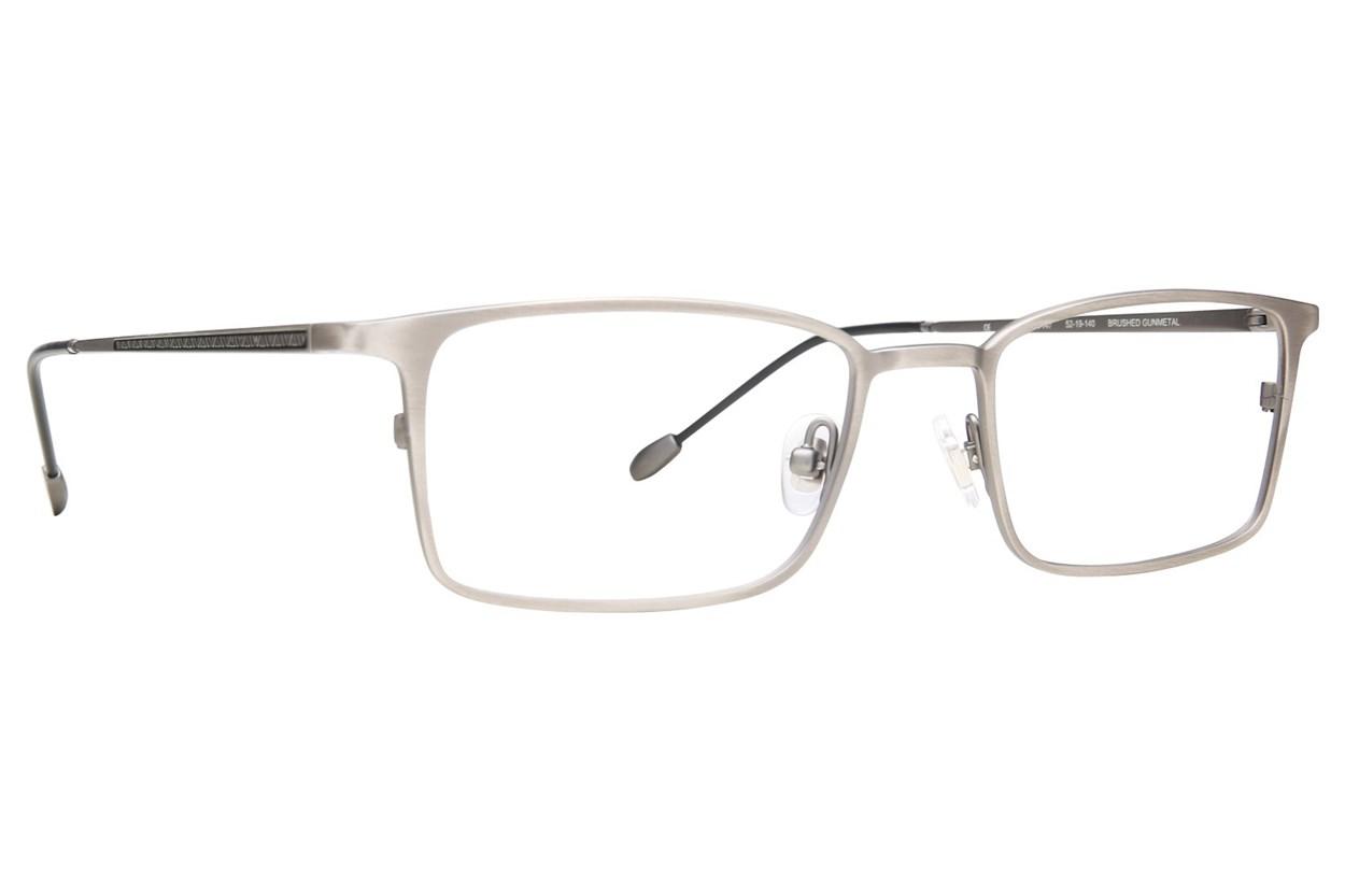 John Varvatos V147 Eyeglasses - Silver
