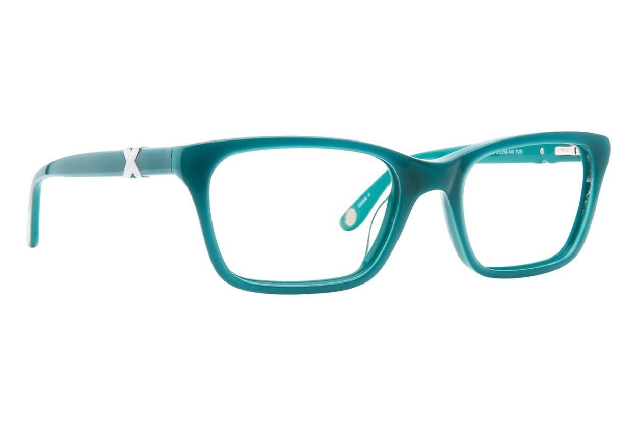 Corinne McCormack Park Ave Eyeglasses - Turquoise