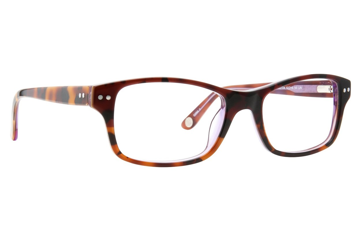 Corinne McCormack Rivington Eyeglasses - Purple