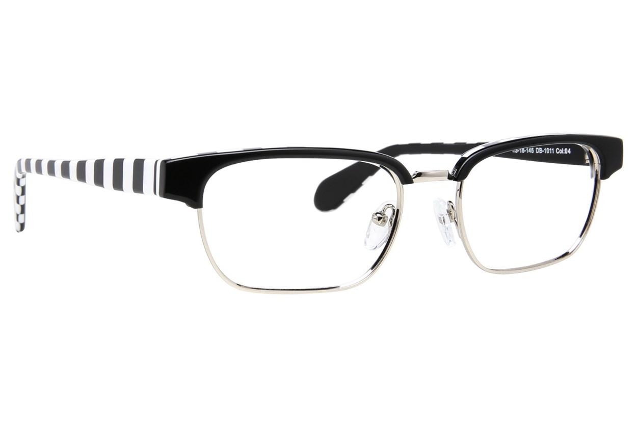 Blakened DB1011 Eyeglasses - Black