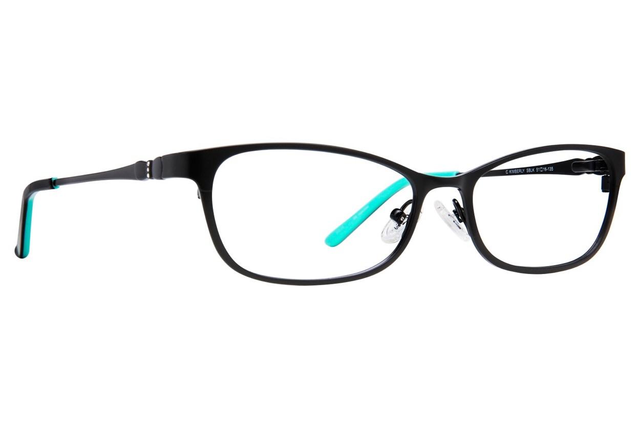 Candie's Kimberly Eyeglasses - Black