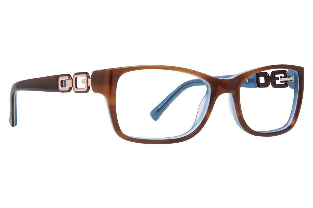 GUESS GU 2406 Eyeglasses - Brown