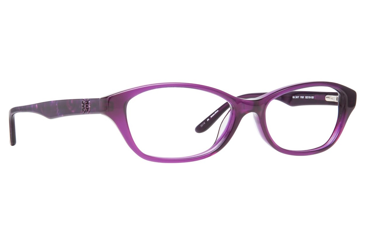 GUESS GU 2417 Eyeglasses - Purple