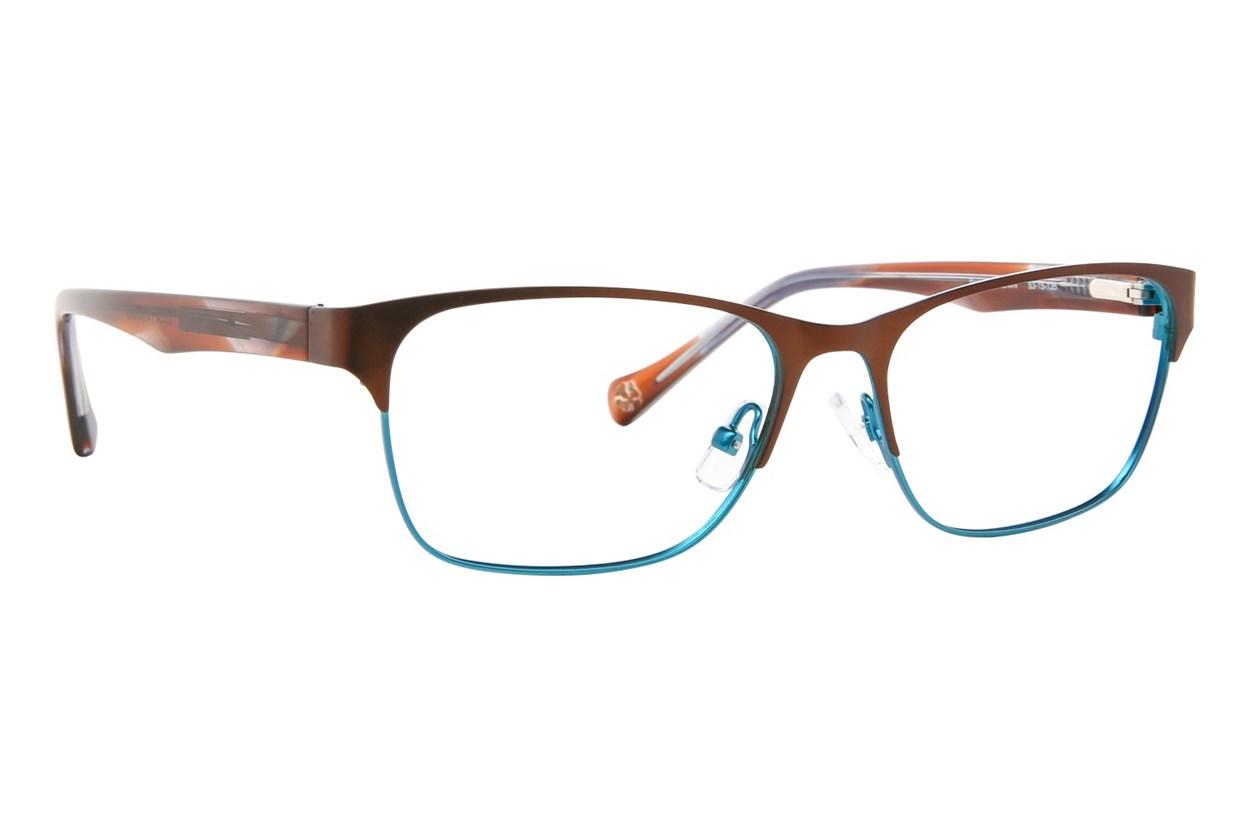 Lucky D101 Eyeglasses - Brown