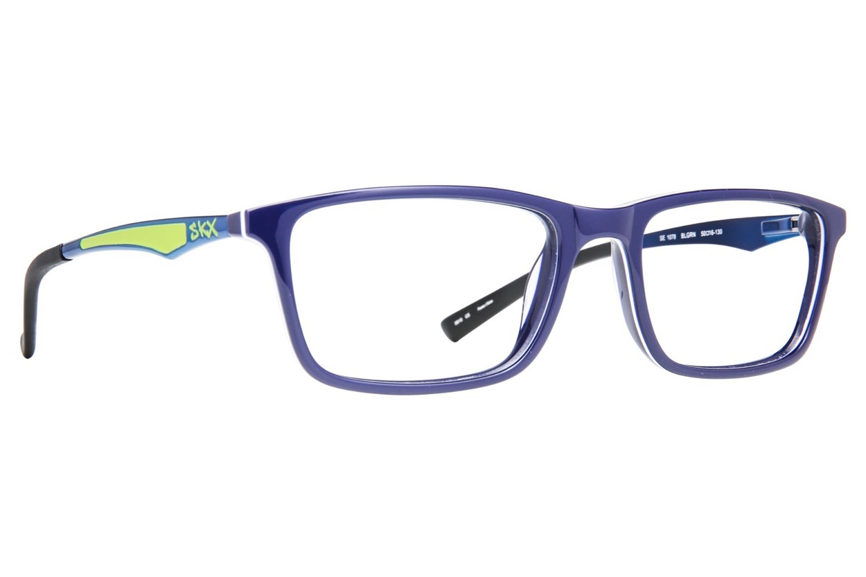 Skechers SE 1078 Eyeglasses - Blue
