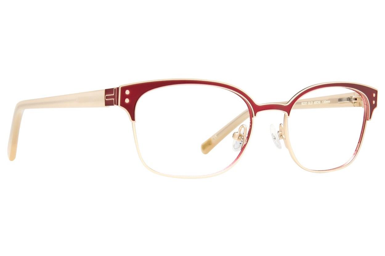Ted Baker B237 Eyeglasses - Gold