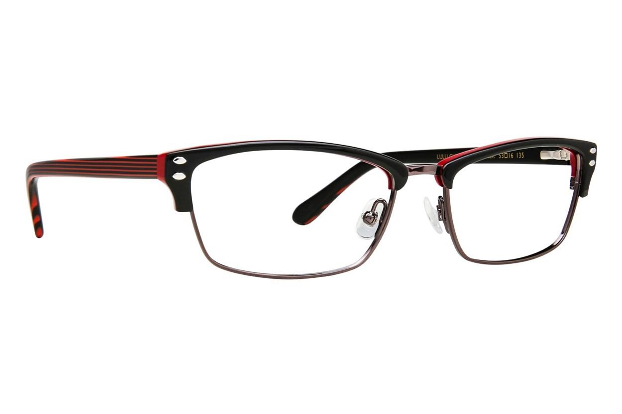 Lulu Guinness L771 Eyeglasses - Black