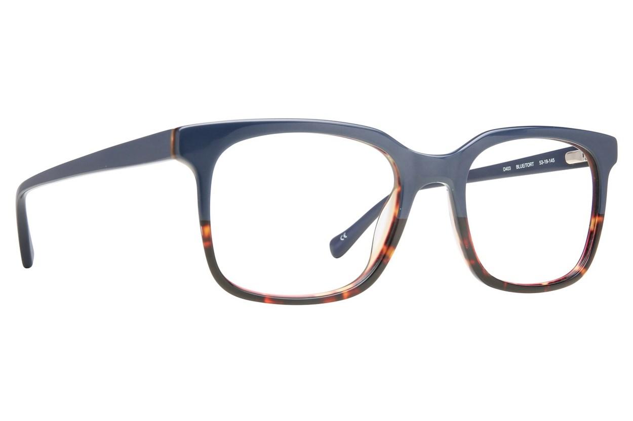 Lucky D403 Eyeglasses - Blue