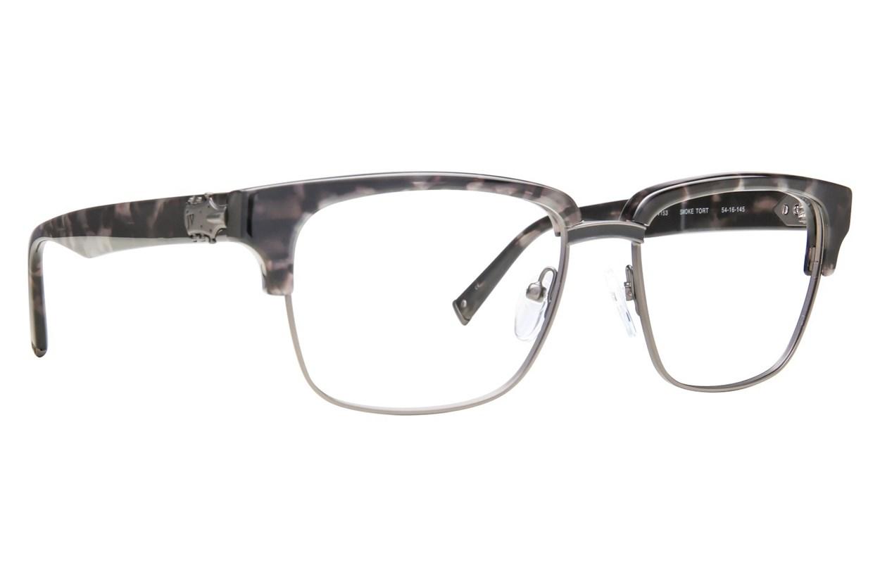 John Varvatos V153 Eyeglasses - Tortoise