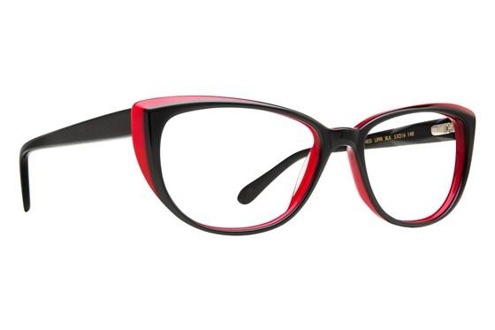 Lulu Guinness L890 Eyeglasses - Black
