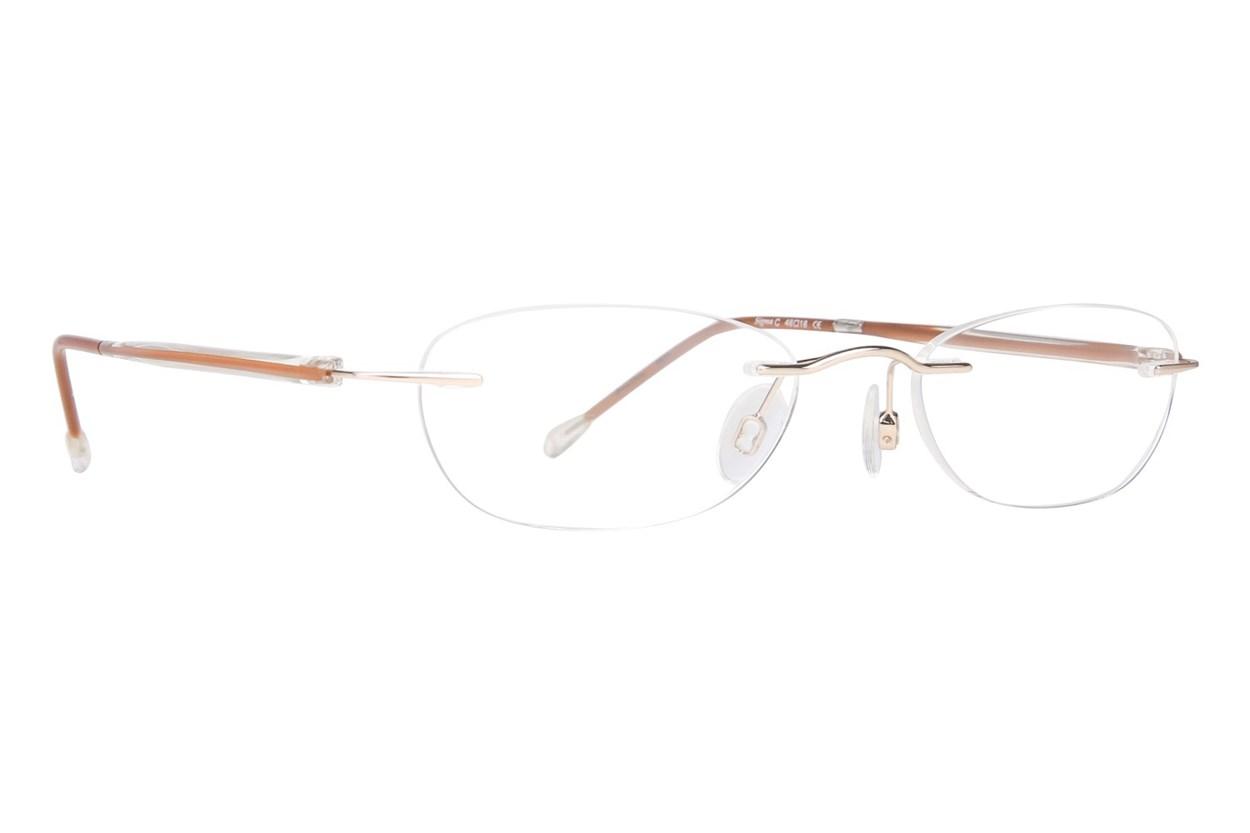 Invincilites Sigma C Eyeglasses - Brown