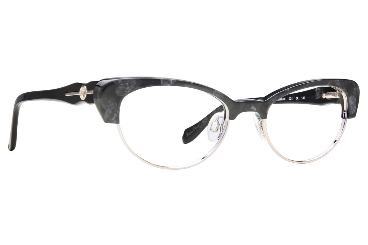 Leon Max LM 4008 Eyeglasses - Black