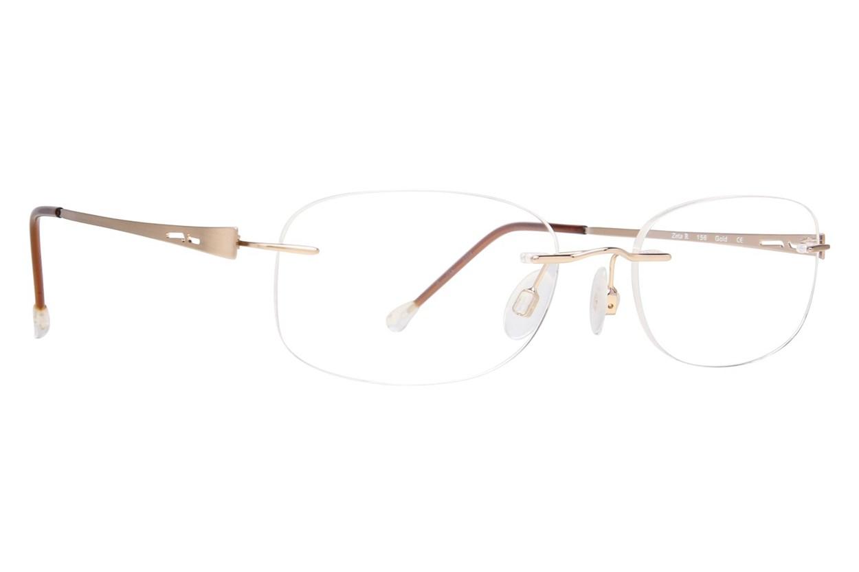 Invincilites Zeta R Eyeglasses - Gold