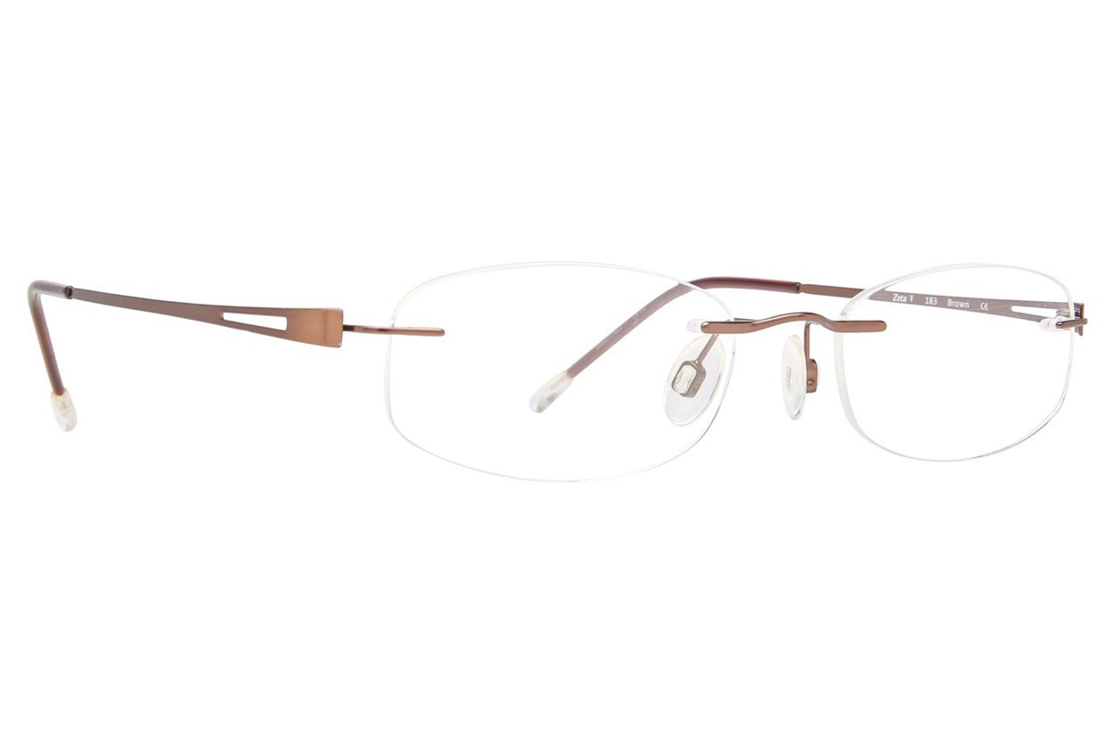 Invincilites Zeta V Eyeglasses - Brown