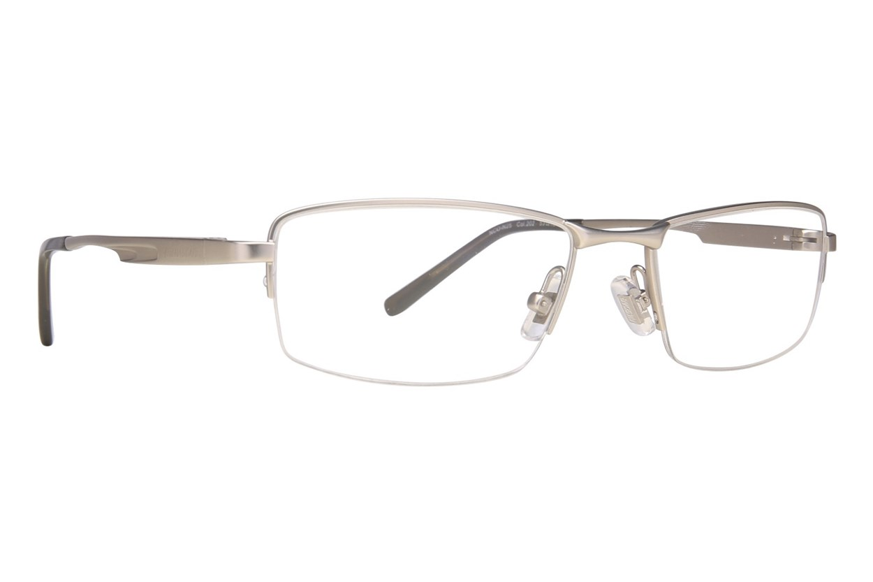 NASCAR N25 Eyeglasses - Silver
