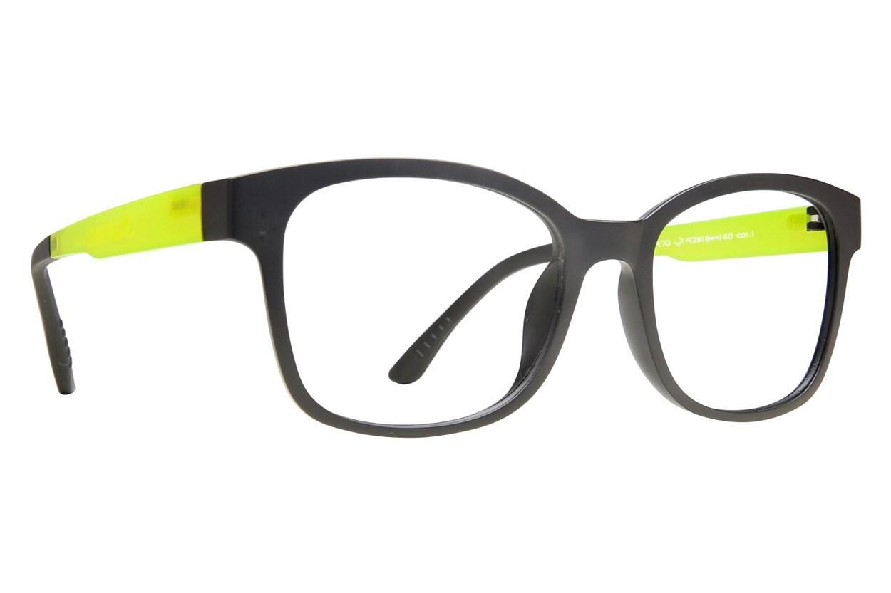 Eyecroxx EC40UL 370 Eyeglasses - Black