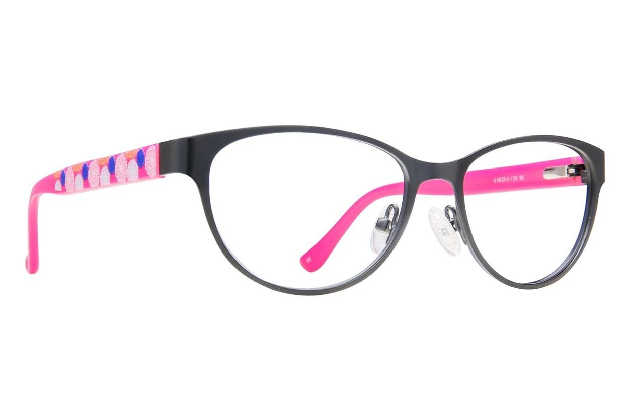 Kensie Girl Cheer Eyeglasses - Black