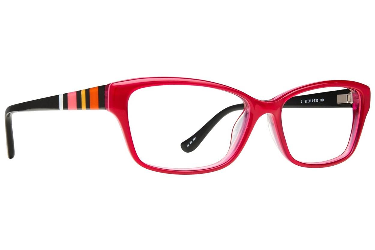 Kensie Happy Eyeglasses - Red