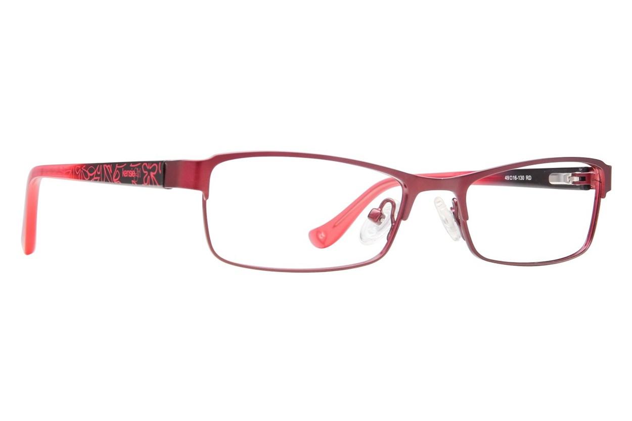 Kensie Girl Bright Eyeglasses - Red