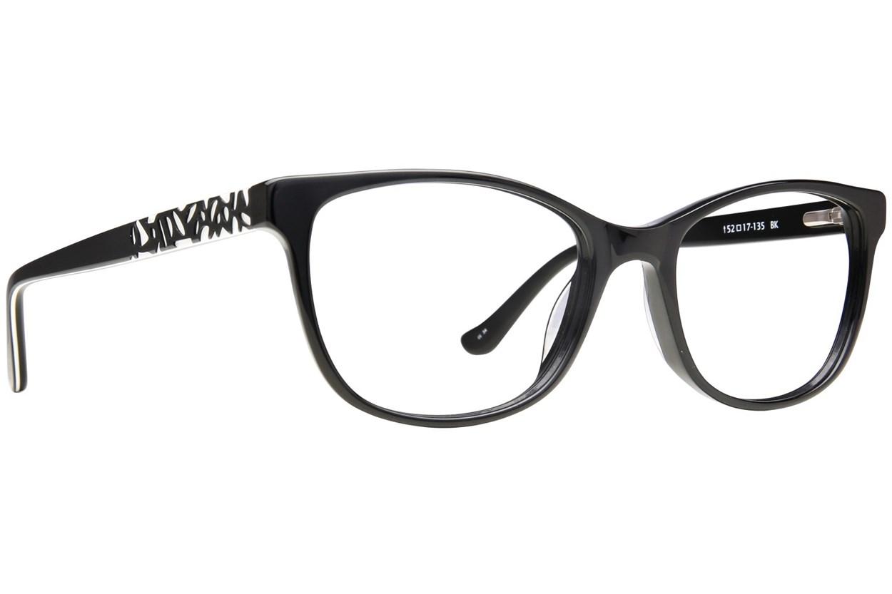 Kensie Positivity Eyeglasses - Black