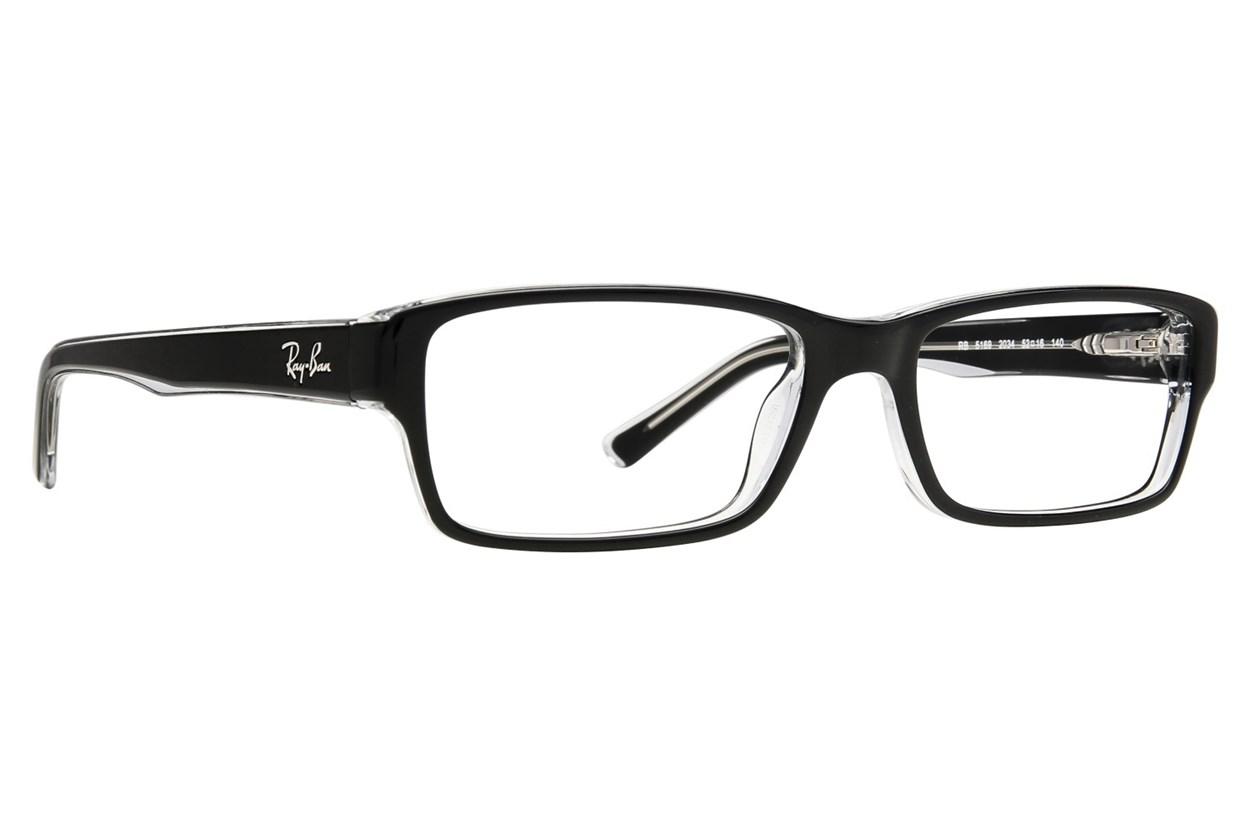 Ray-Ban® RX5169 Eyeglasses - Black