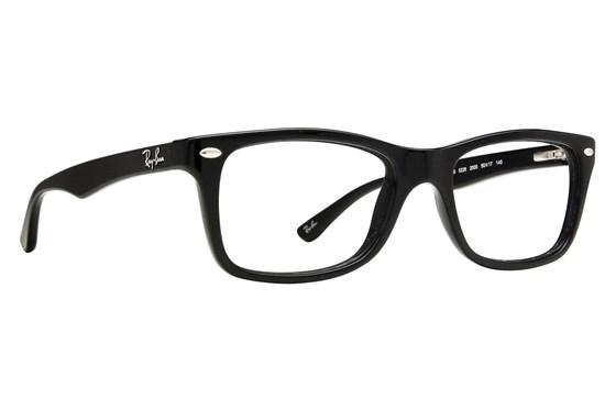 Ray-Ban® RX5228 Eyeglasses - Black