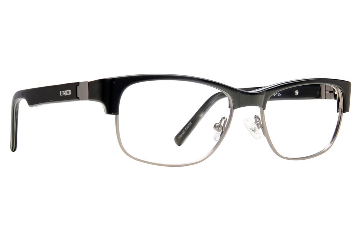 Lennon L3001 Eyeglasses - Black