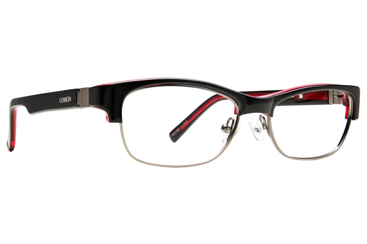 Lennon L3002 Eyeglasses - Black