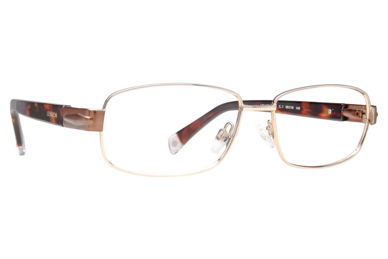 Lennon L3004 Eyeglasses - Silver