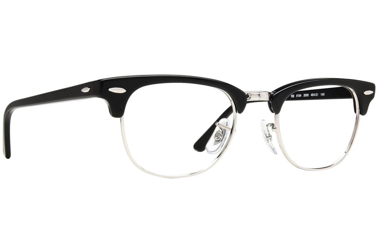 Ray-Ban® RX5154 Eyeglasses - Black