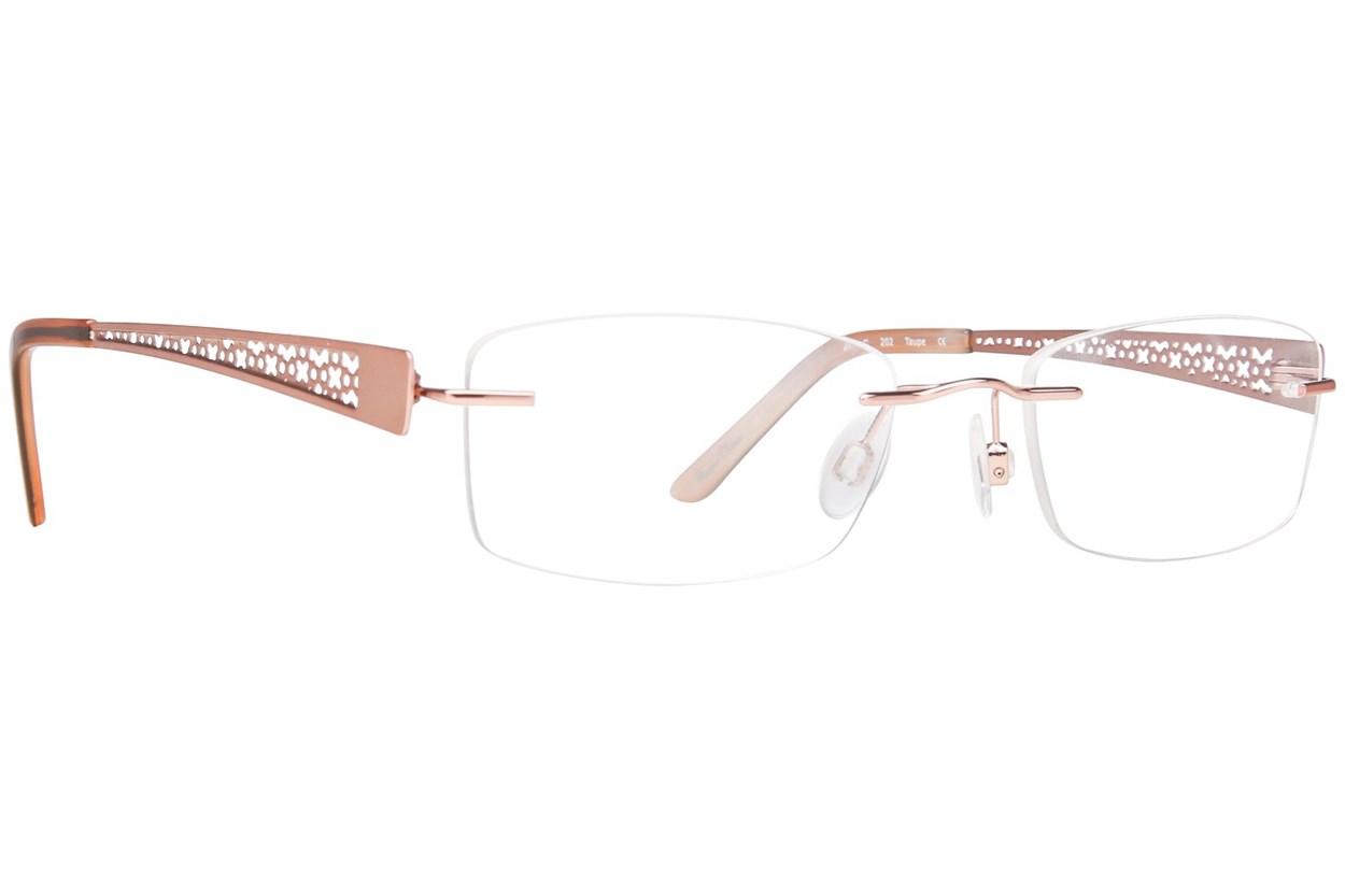 Invincilites Zeta C Eyeglasses - Tan
