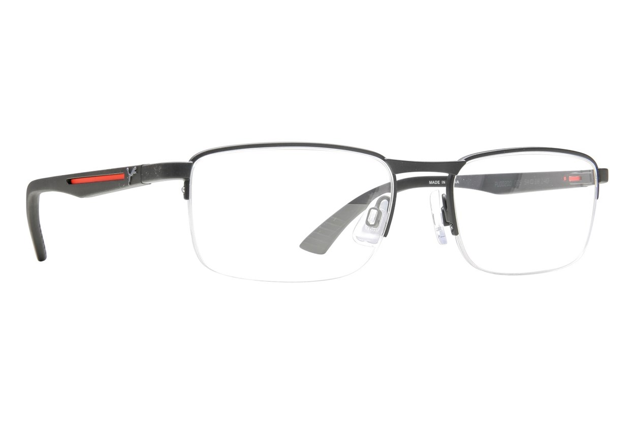 Puma PU0020O Eyeglasses - Black
