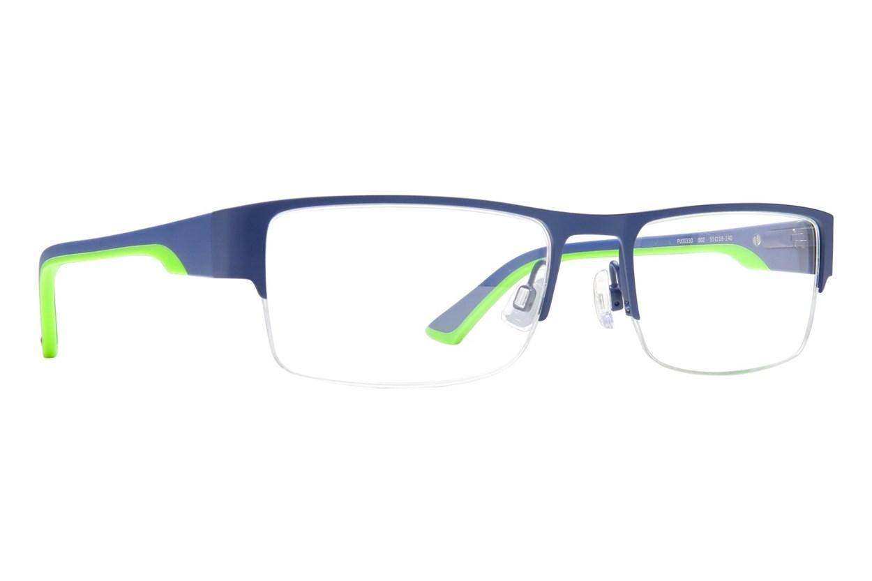 Puma PU0033O Eyeglasses - Blue