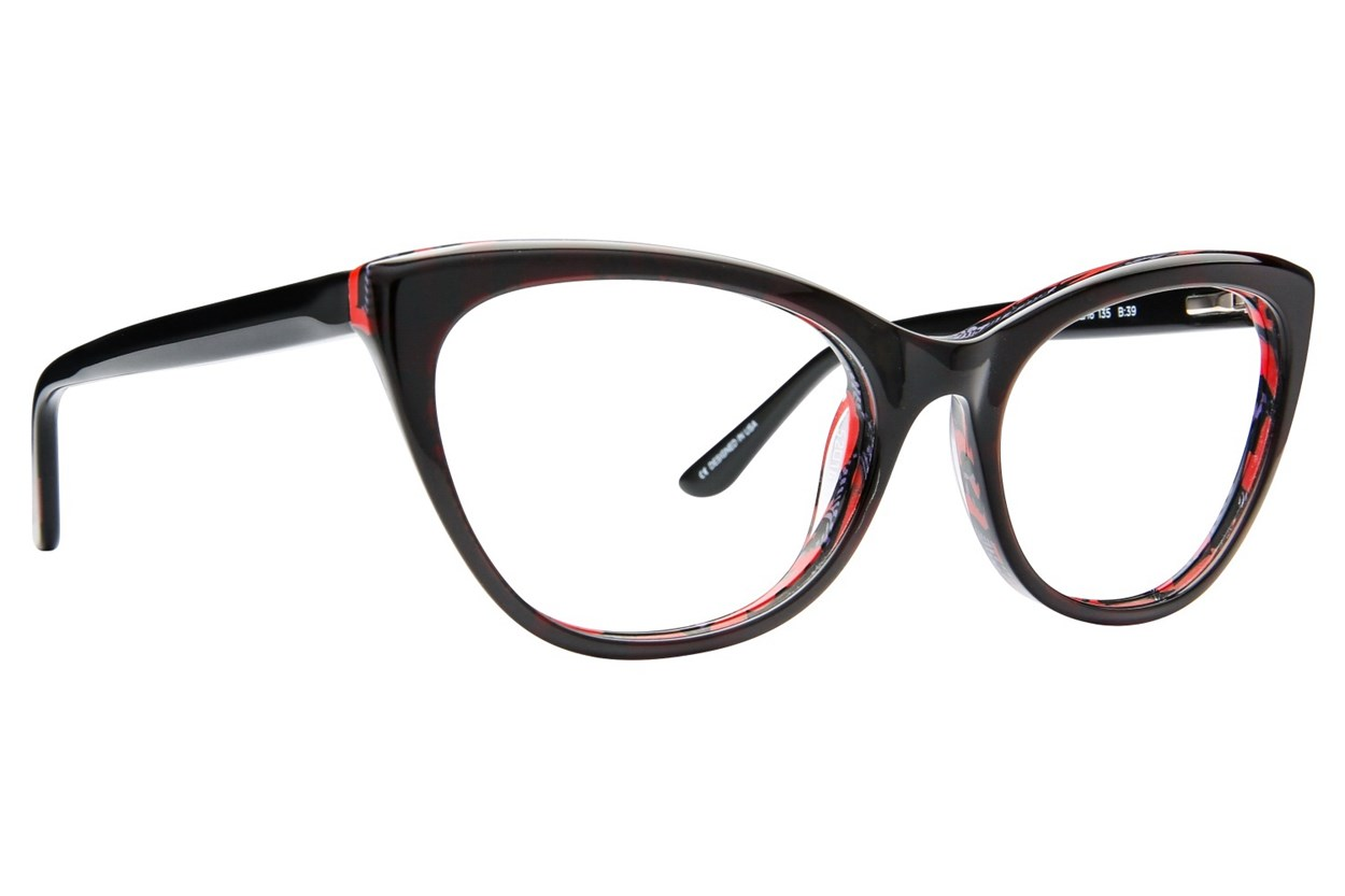 GX By Gwen Stefani GX008 Eyeglasses - Black