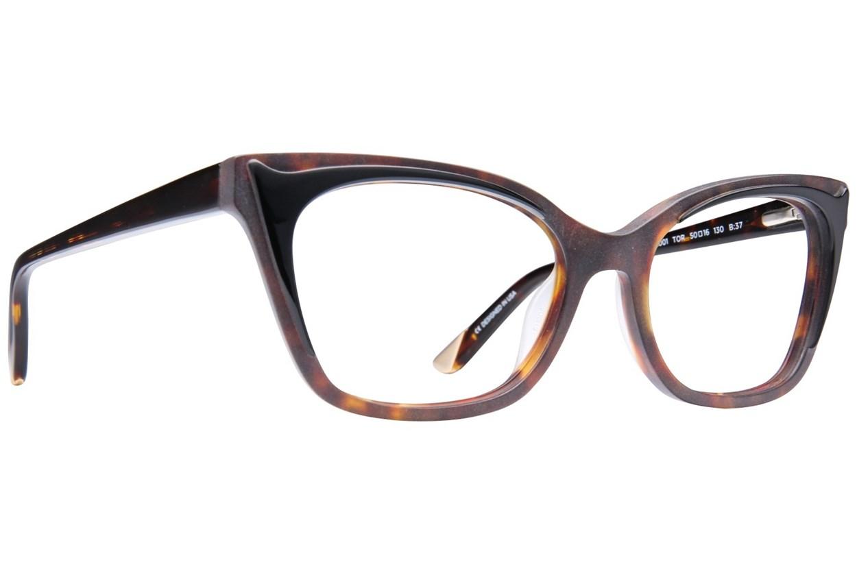 L.A.M.B. By Gwen Stefani LA001 Eyeglasses - Tortoise