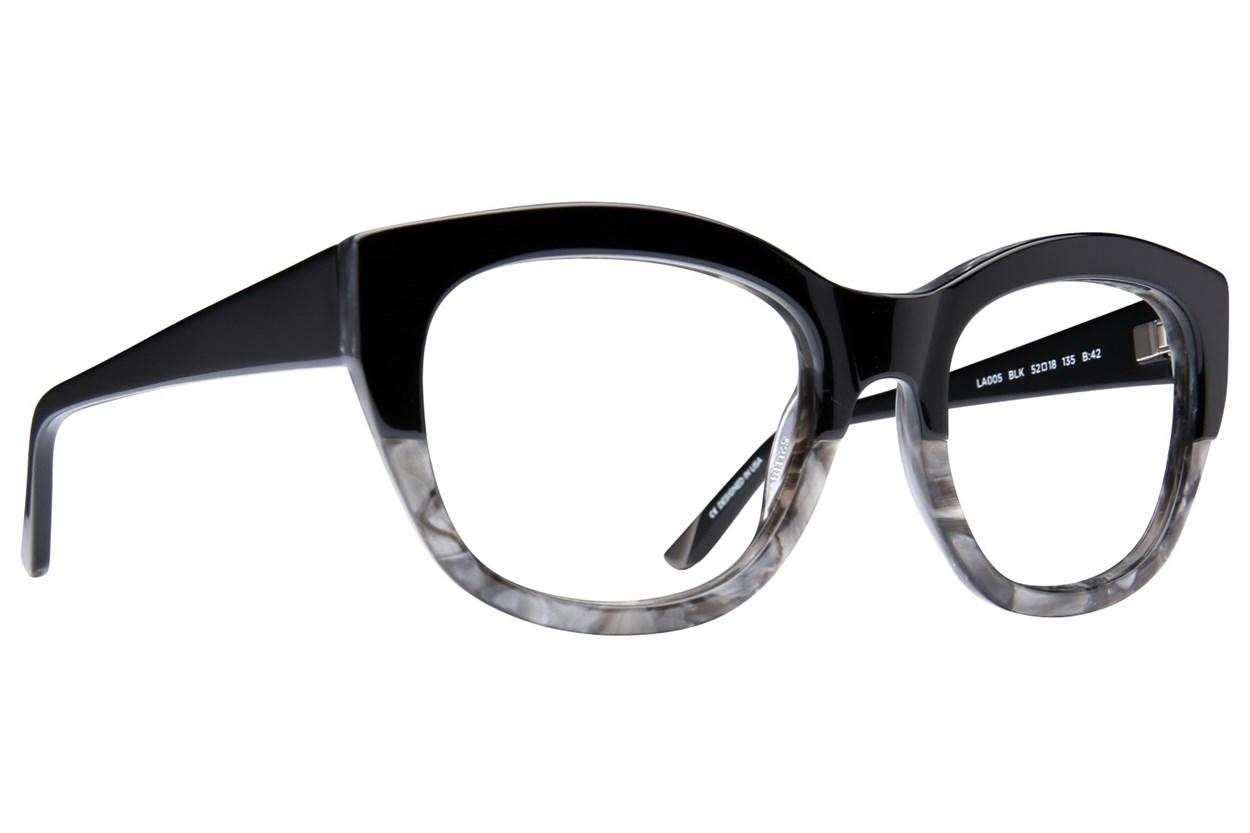 L.A.M.B. By Gwen Stefani LA005 Eyeglasses - Black
