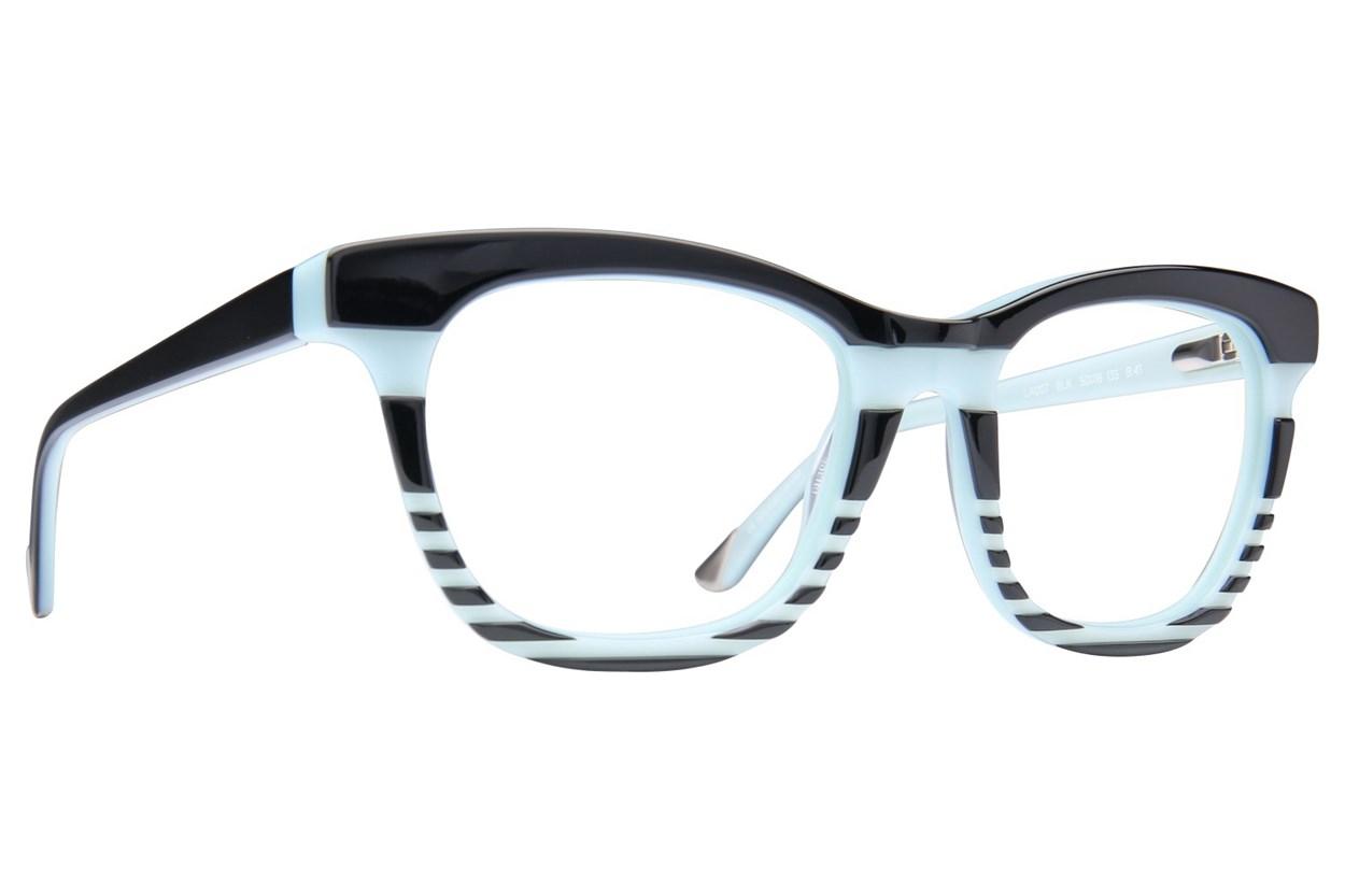 L.A.M.B. By Gwen Stefani LA007 Eyeglasses - Black